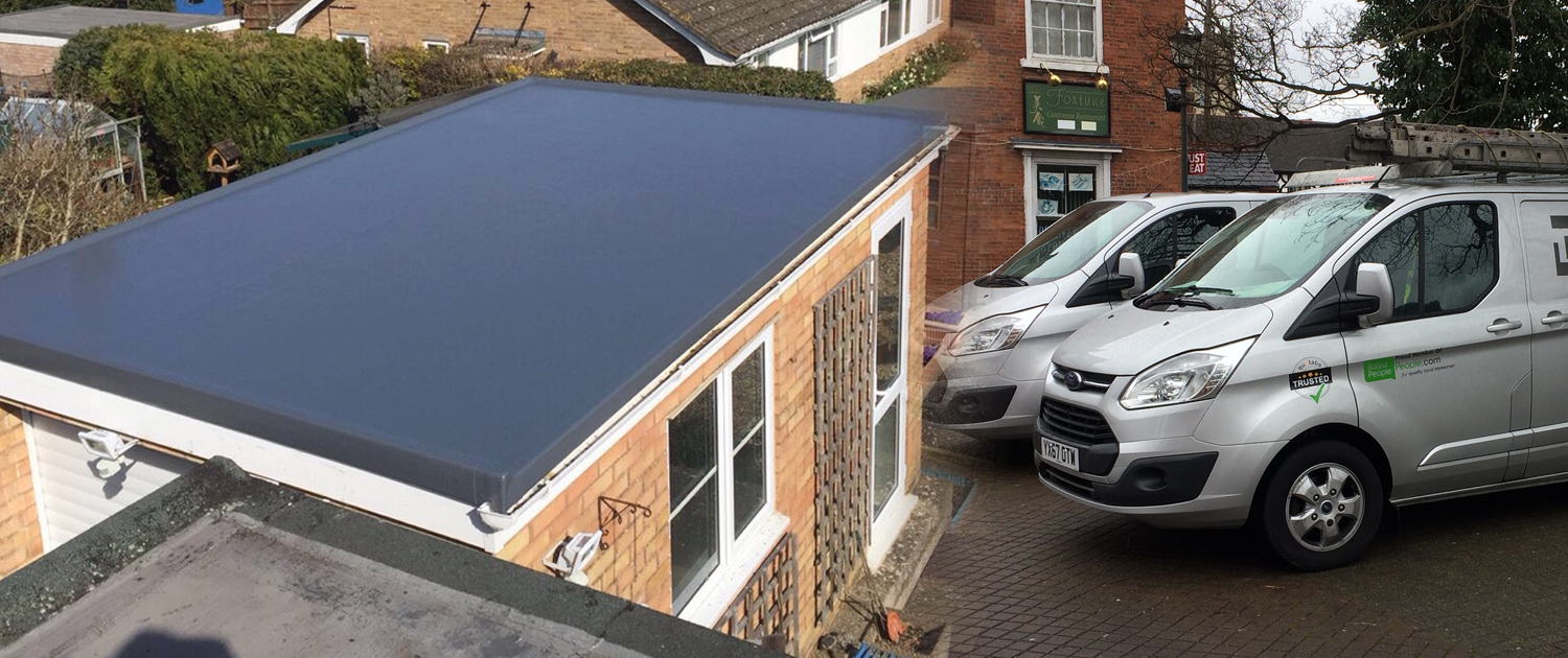 To showcase Beta roofs flat roof projects