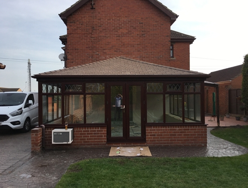 Tiled conservatory roof Rotherham