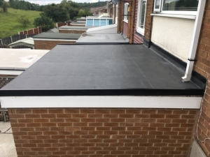 A flat roof installation in Rotherham