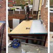 Flat conservatory Roof Rotherham