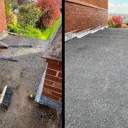 felt roof replace Rotherham