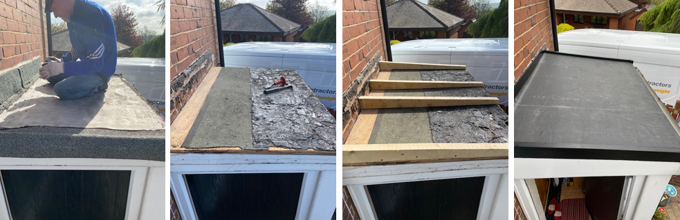replacing a flat roof in Rotherham