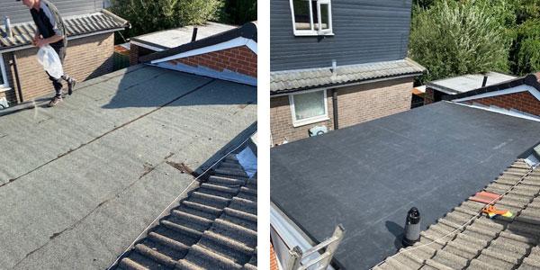 firestone rubber roof Rotherham