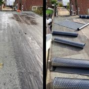 Bitumen felt roof install Rotherham