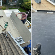 flat rubber roof rotherham